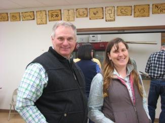 Steve Wanderaas & Jenny Garoutte