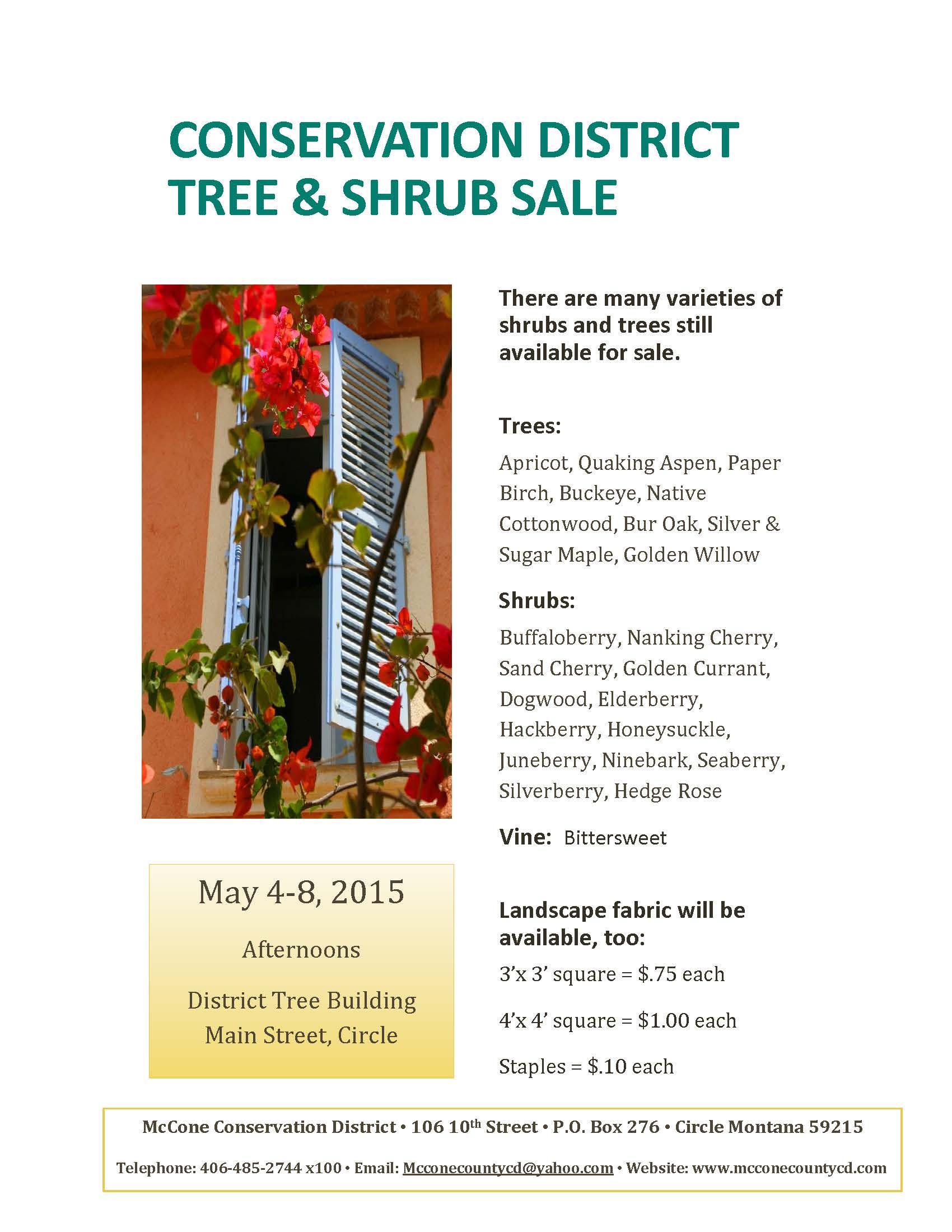 Montana mccone county circle - Tree Shrub Sale The Sequel