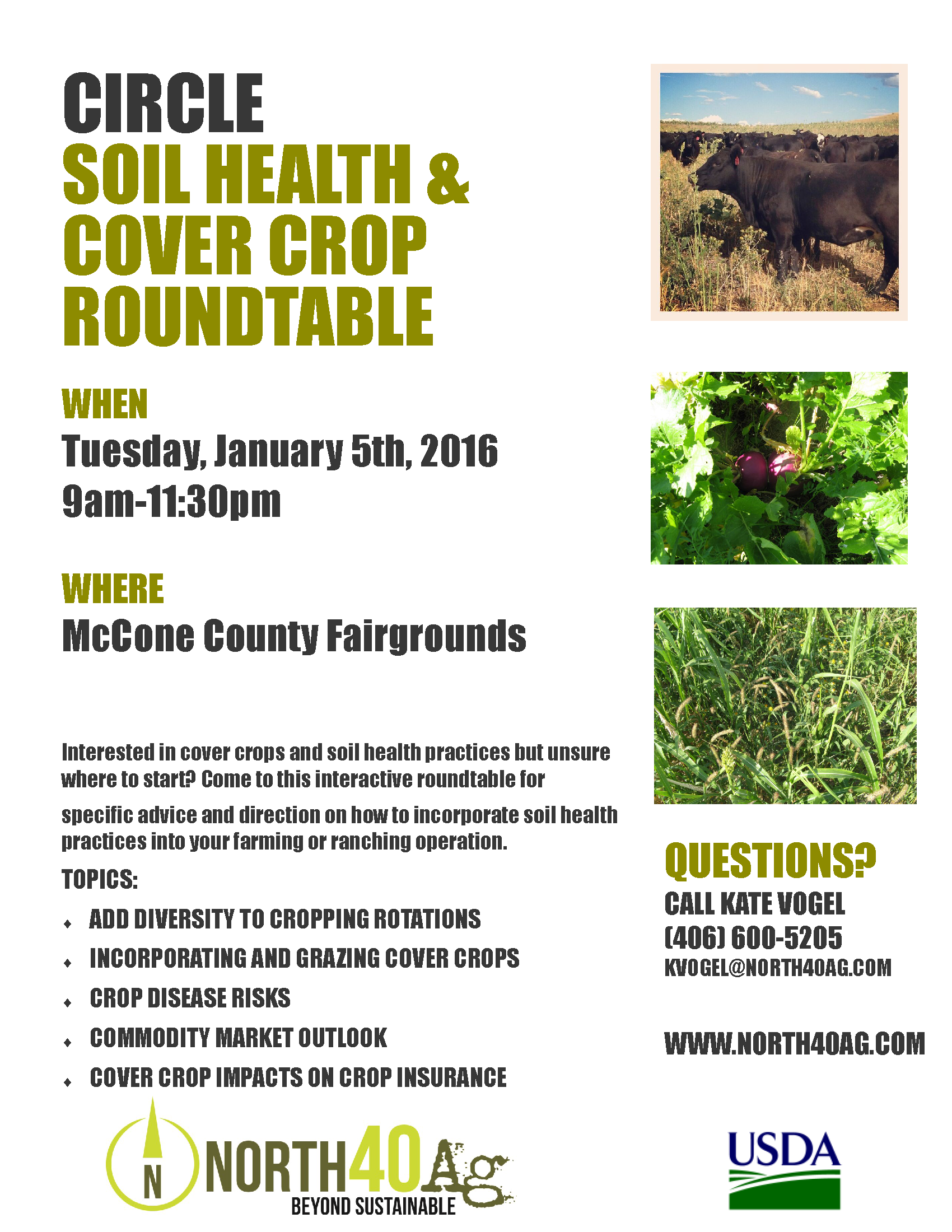 Montana mccone county circle - Circle Soil Health Cover Crop Roundtable
