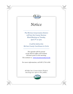 County Noxious Weed Meeting Notice 4-5-16