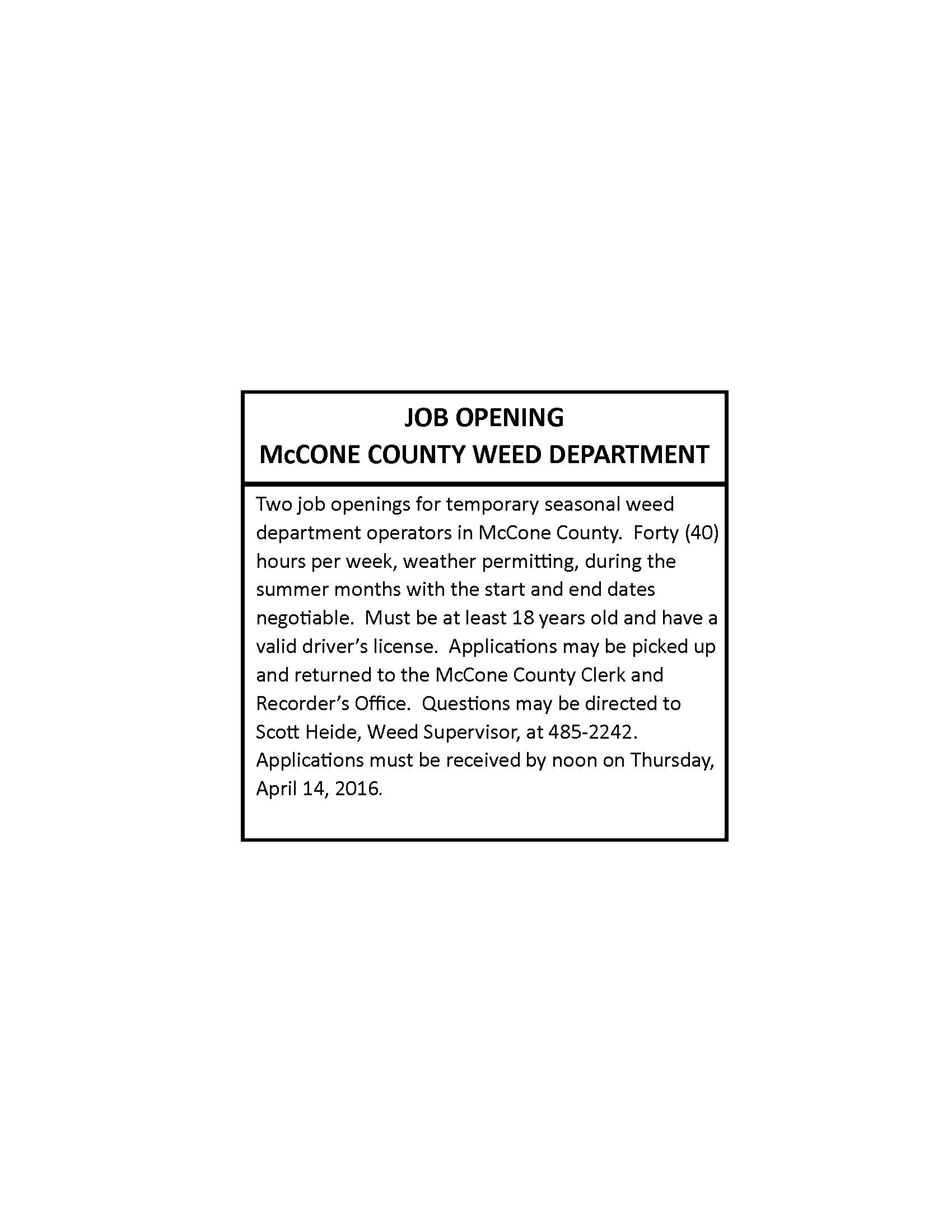 Montana mccone county circle - Mccone County Weed Department