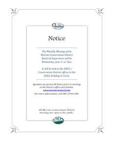 June Meeting Notice